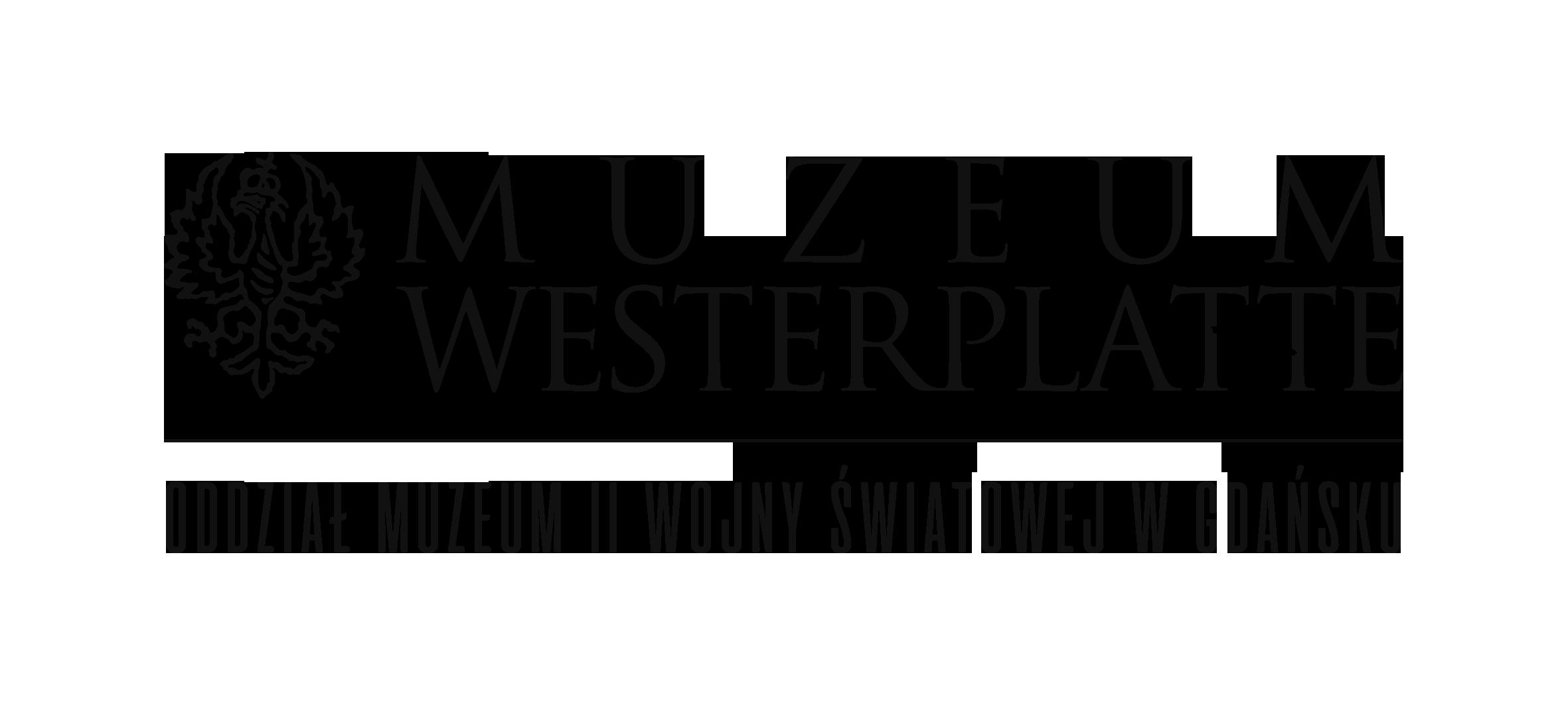 logo Muzeum Westerplatte - oddziału Muzeum Drugiej Wojny Światowej w Gdańsku
