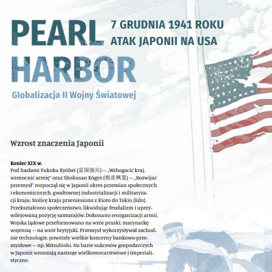 Informacje o Pearl Harbor 1941 w formacie pdf. Otwiera się w nowej zakładce