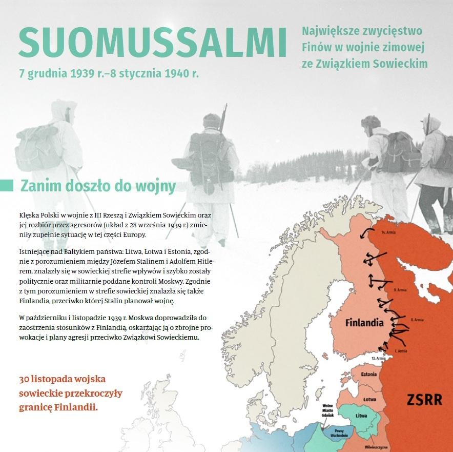 Informacje o Wojna Zimowa Finlandia 1939-1940 w formacie pdf. Otwiera się w nowej zakładce